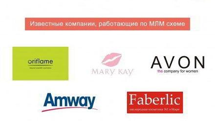 5 известных компаний в МЛМ