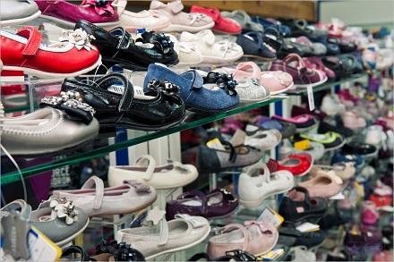 Ассортимент детской обуви